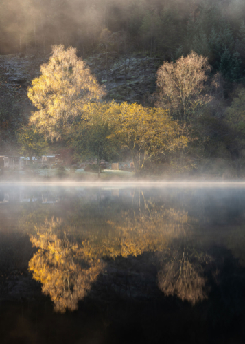 Loch Ard Reflections, Chris Lauder