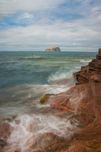 Bass Rock from Seacliffe, Liam Yule