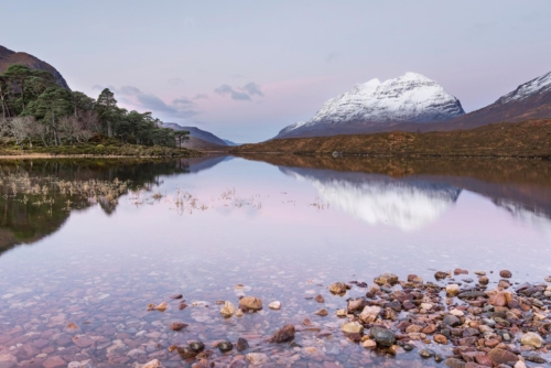 Blushing Loch Clair, Ruth Grindrod