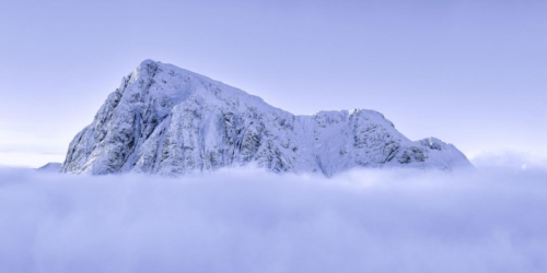 Cloud Inversion Buachaille Etive Mor, John McSporran