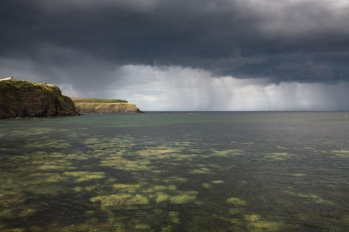 Incoming Storm Cullykhan Bay, Fiona Mcrae