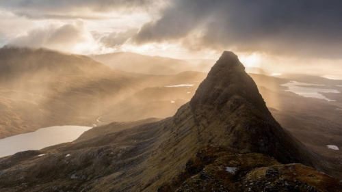Sunrise on Suilven, Katherine Fotheringham